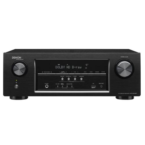 AVRS500BT 5.2 Channel Av Receiver With 4K Capability And Blu